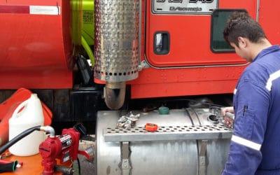 Control de Combustible para Maquinaria y Volquetas