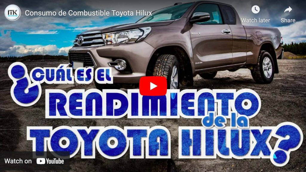 Consumo de Combustible de la Toyota Hilux