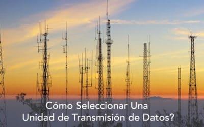 ¿Cómo seleccionar el medio de transmisión de datos de Rastreo Satelital?