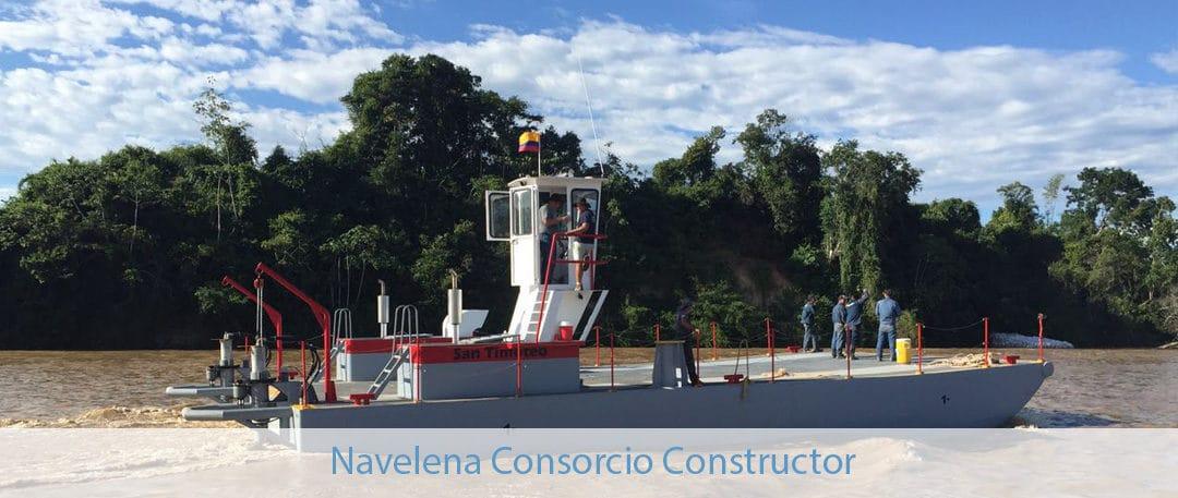 Control de Combustible fluvial instalado en Landicraft