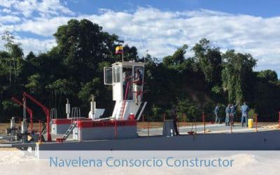 Control de Combustible Fluvial – Rio Magdalena – Navelena Consorcio Constructor