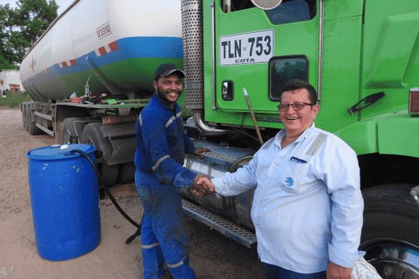 Control de Combustible para Camiones instalado en Kenworth de Plexa