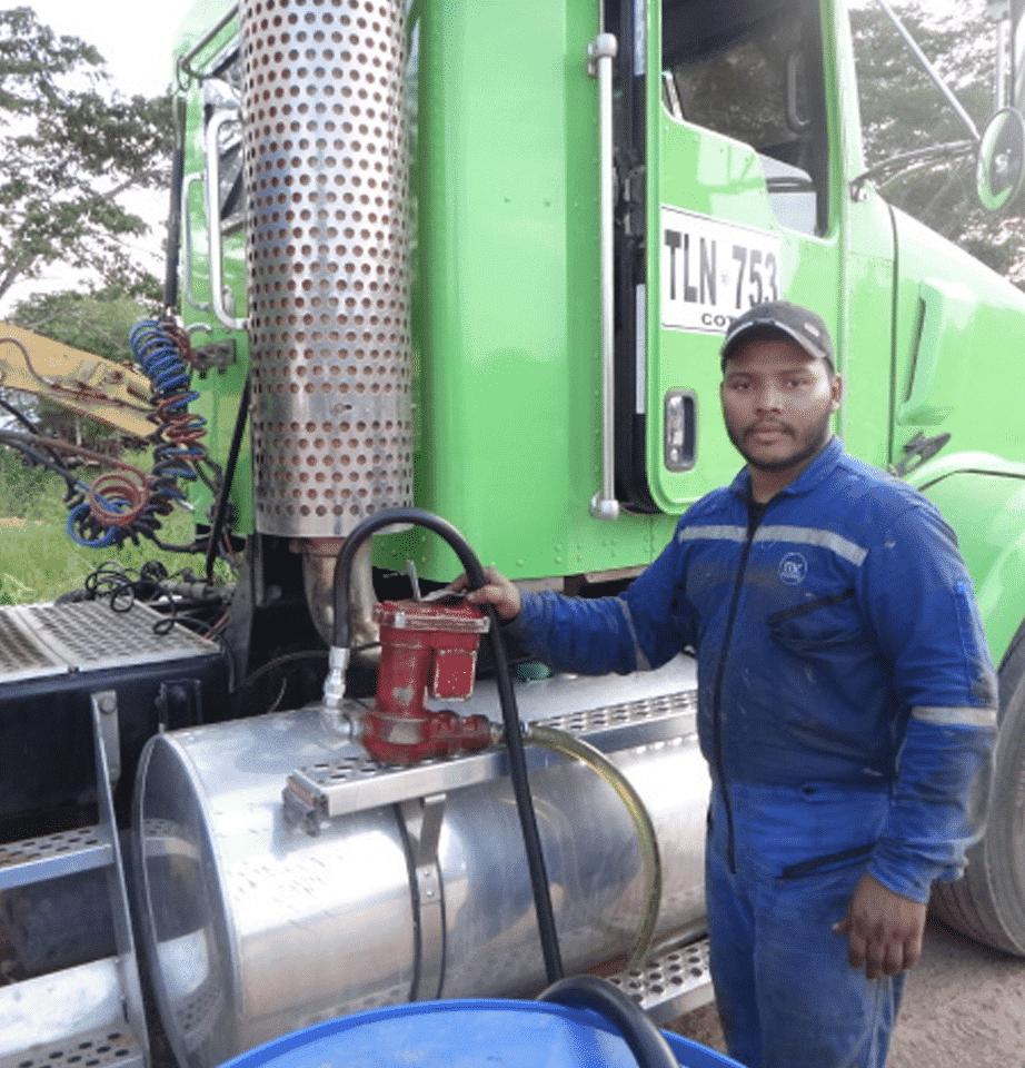 Control de Combustible para Camiones Kenworth GLP