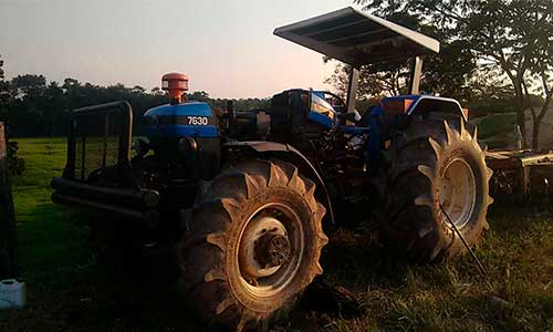Control de Combustible en tractores New Holland