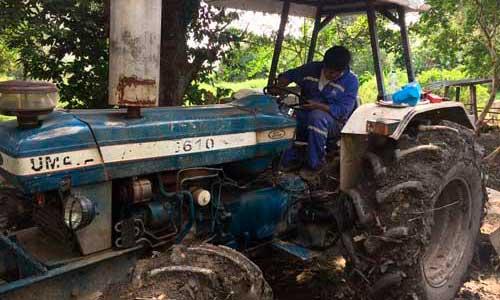 Control de Combustible en tractores ford
