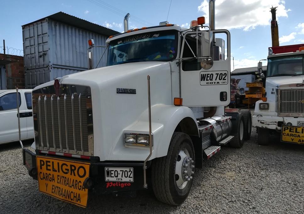 GPS para vehículos de carga Kenworth