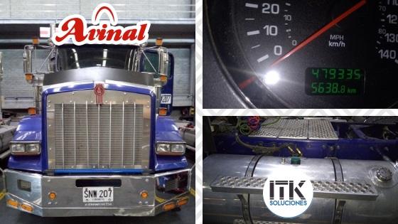 Asesoría en Control de Combustible de ITK a Avinal