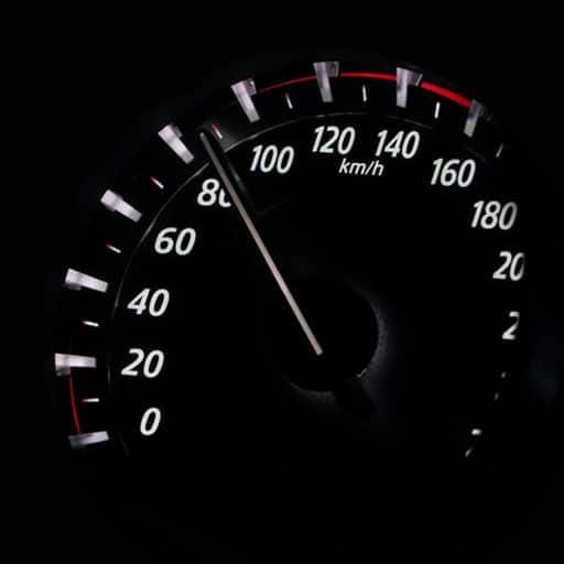 Consumo de Combustible versus Velocidad
