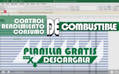 Control de Combustible en Excel [Descarga la Planilla Gratis]