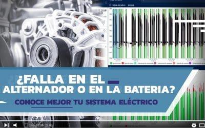Rastreo Satelital: Sistema Eléctrico, Alternador y Batería Eléctrica