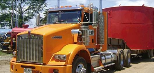 Sensores de Combustible en Camión de Diateco